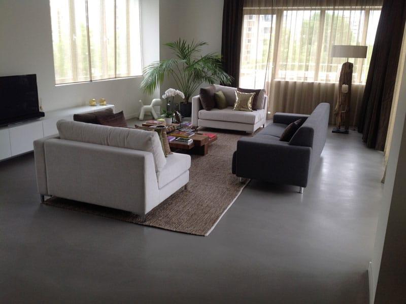 Betonlook Vloer Goedkoop : Goedkope betonvloer designbetonvloer