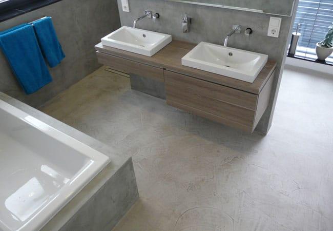 beton cire prijs
