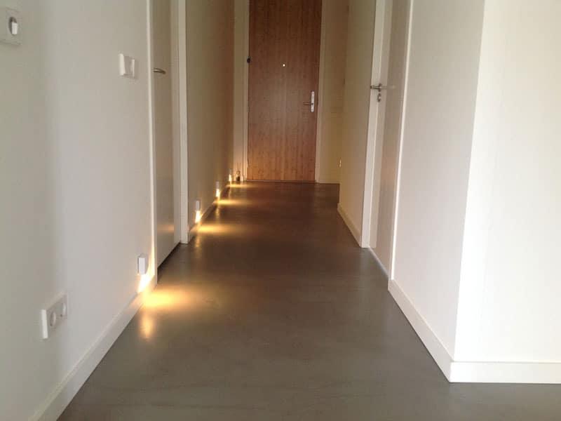 Betonlook vloer goedkoop designbetonvloer
