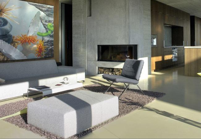 Betonvloer In Woonkamer : Betonvloer in de woonkamer designbetonvloer