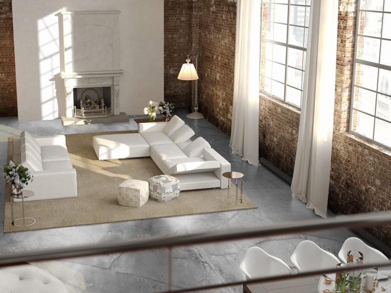 betonlook vloer hillegom