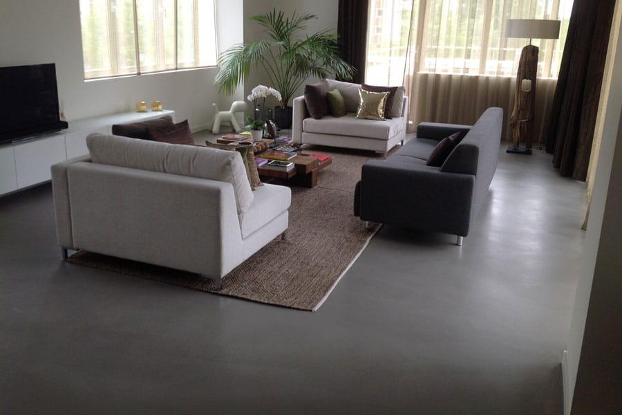 Woonbeton: een moderne vloer met weinig onderhoud