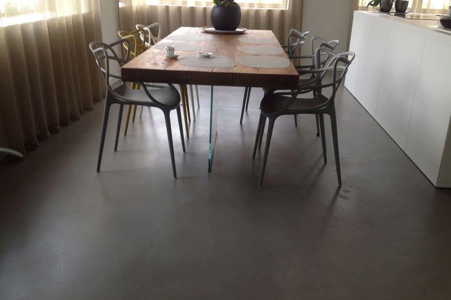 Betoon Look Vloer : Een fraai interieur met betonlook vloer