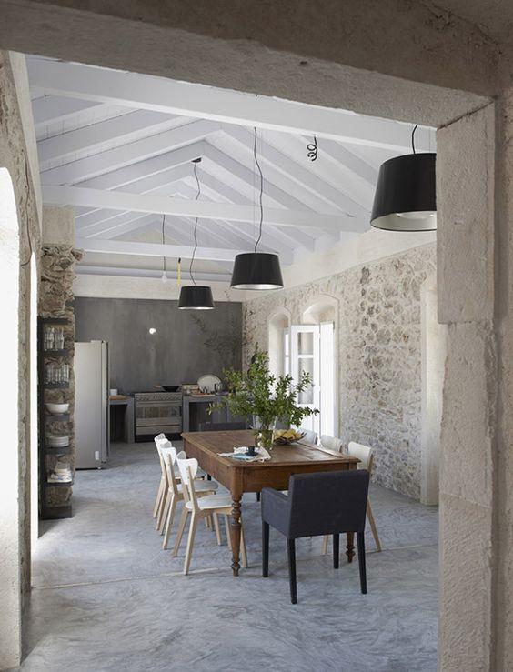 betonlook vloer past bij diverse interieurstijlen