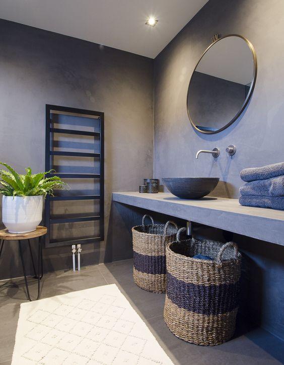 design betonvloer badkamer